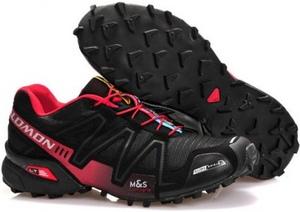 кроссовки Salomon (с мехом) #0572
