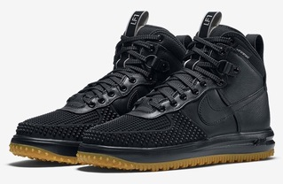 кроссовки Nike Lunar Force 1 Duckboot'16 (с мехом) #0462