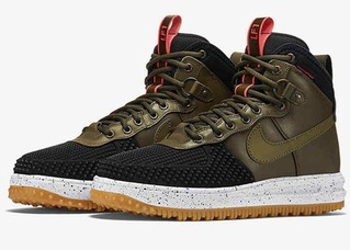 кроссовки Nike Lunar Force 1 Duckboot'16 (с мехом) #0023