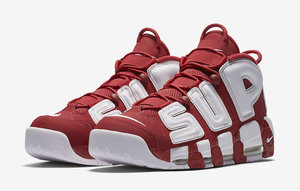 кроссовки Nike Air More Uptempo x Supreme #0036