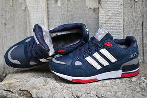 кроссовки Adidas ZX 750 (с мехом) #0725