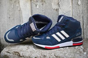 кроссовки Adidas ZX 750 (с мехом) #0191