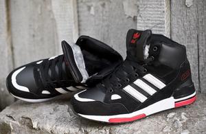 кроссовки Adidas ZX 750 (с мехом) #0142
