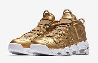 кроссовки Nike Air More Uptempo x Supreme #0464