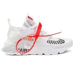 кроссовки  Nike Huarache x Off-White #0616